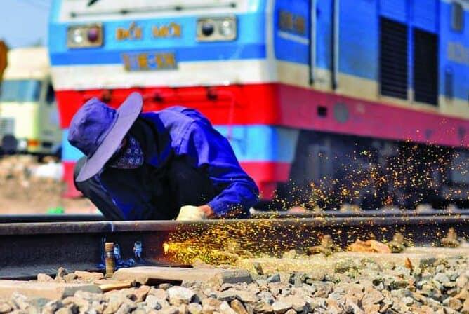 Khó khăn mà vận tải đường sắt đang gặp phải