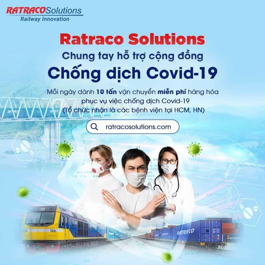 Ratraco Solutions chung tay đẩy lùi dịch Covid-19