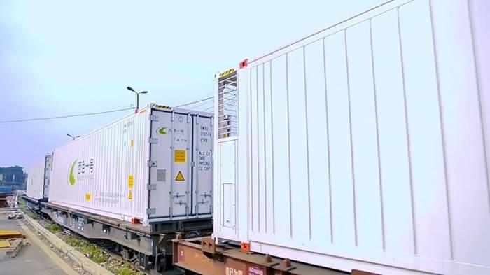 Ratraco Solutions nhận vận tải hàng đông lạnh bằng tàu hỏa