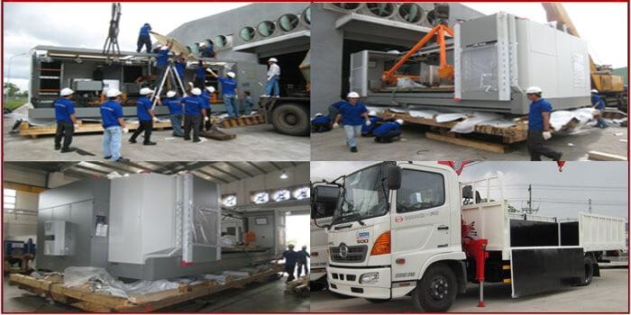Vận chuyển máy móc, thiết bị Bắc Nam bằng đường sắt