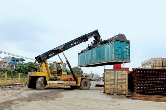 Dịch vụ vận tải hàng hóa không chịu thuế bằng Container