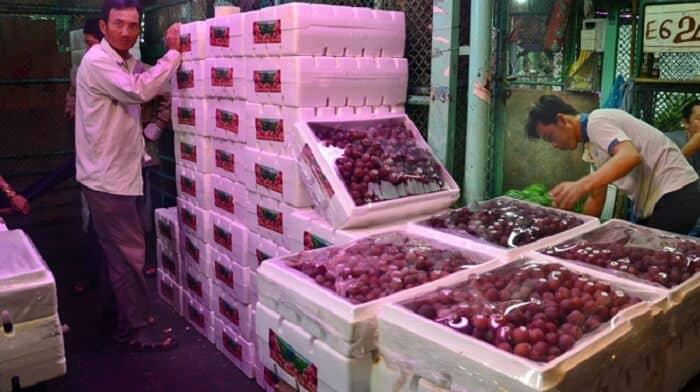 Dịch vụ Vận chuyển trái cây, hoa quả, thực phẩm Bắc Nam