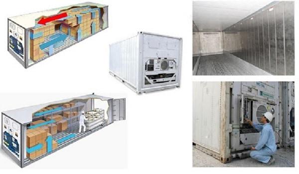 Dịch vụ vận tải mỹ phẩm, dược phẩm, TPCN bằng container lạnh