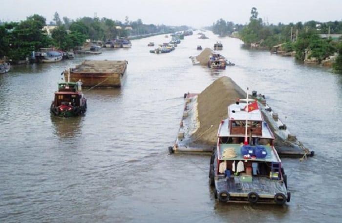 Dịch vụ vận tải hàng hóa bằng đường thủy nội địa giá rẻ