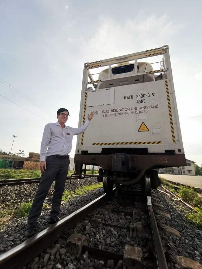 Những loại hàng hóa xuất khẩu nhiều sang Trung Quốc bằng đường sắt