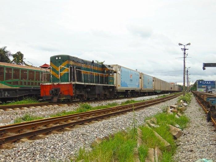 Dịch vụ tàu container chở hàng Bắc Nam DƯỚI 40 GIỜ bằng đường sắt
