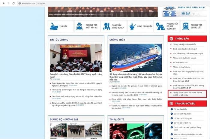 Hướng dẫn các bước tra cứu lịch tàu biển quốc tế nhanh chóng, dễ dàng