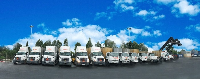 Dịch vụ gửi hàng đi Vĩnh Phúc bằng Container tiện lợi, an toàn và giá rẻ