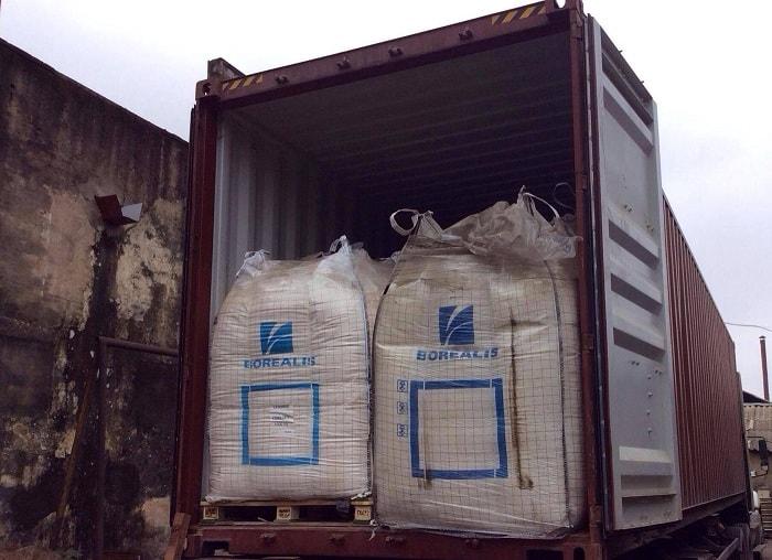 Nhận vận chuyển hạt nhựa tuyến Bắc Nam bằng Container